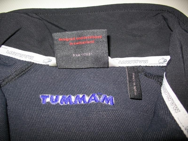 Кофта MAMMUT rundle softshell jacket lady  (размер M) - 6