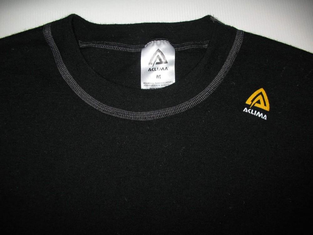 Кофта ACLIMA warm wool crew neck jersey (размер М) - 3