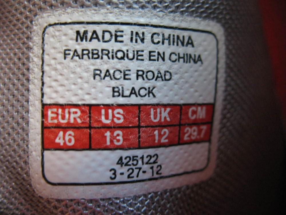 Велотуфли BONTRAGER race road shoes (размер US13/UK12/EU46(на стопу до 295 mm)) - 9