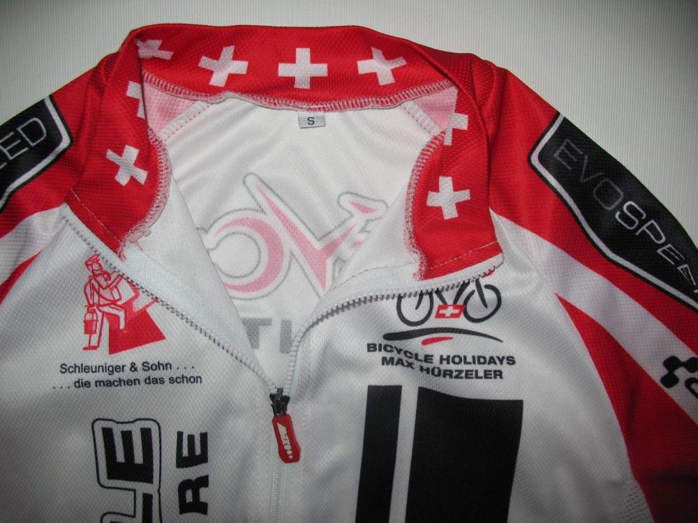 Веломайка MAX HUERZELER bicycle adventure jersey (размер S) - 2