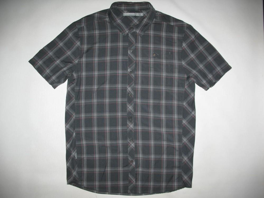 Рубашка ICEBREAKER departure ultralight 150 shirt (размер L) - 2