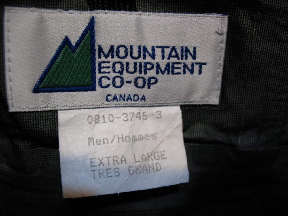 Куртка MOUNTAIN EQUIPMENT gtx outdoor jacket (размер XL/XXL) - 10