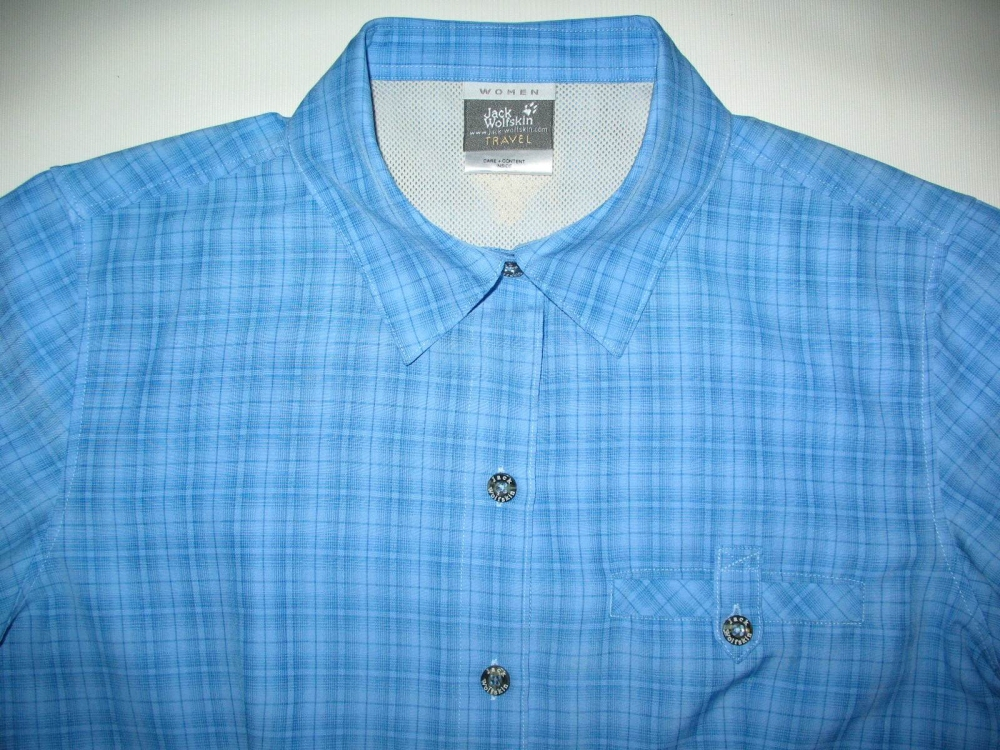 Рубашка JACK WOLFSKIN outdoor shirt lady (размер M/L) - 2