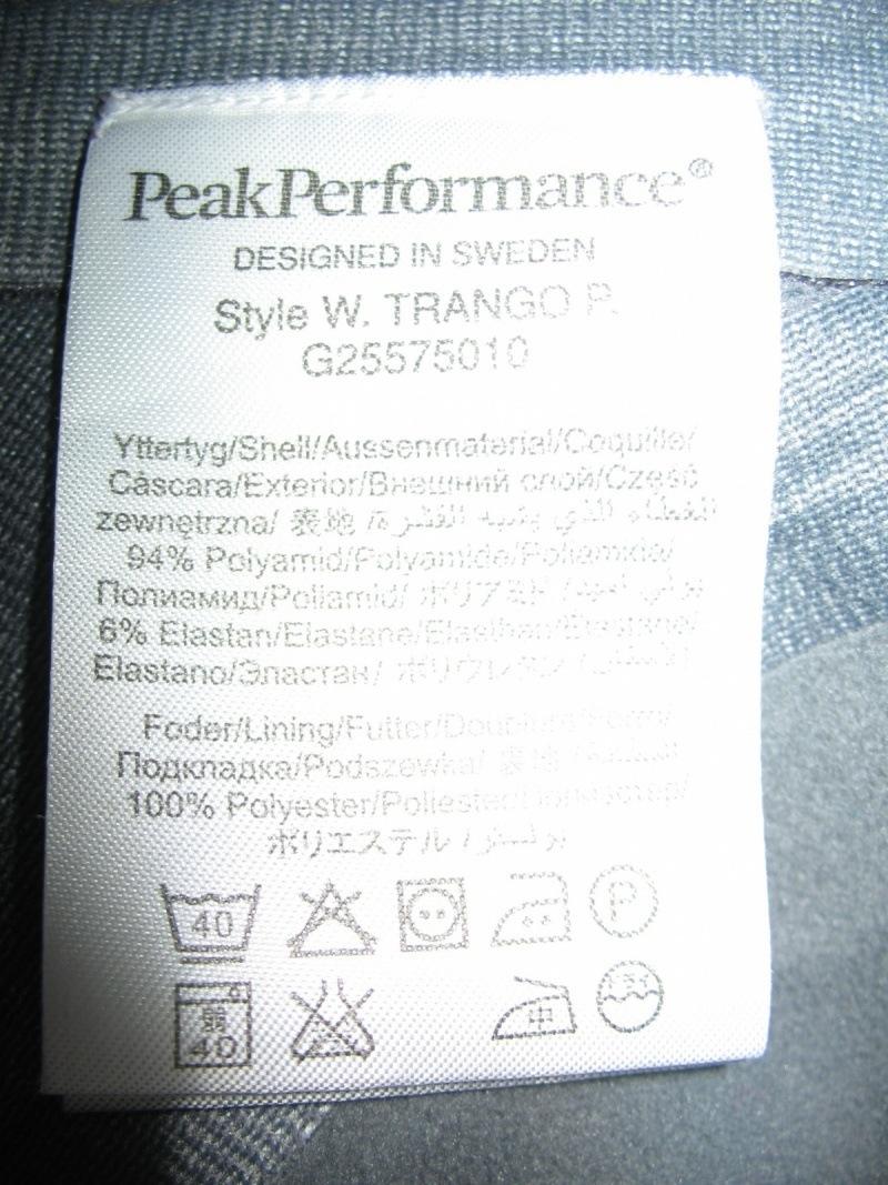 Штаны PEAK PERFOMANCE   Gore-TEX pants lady  (размер M/S) - 10