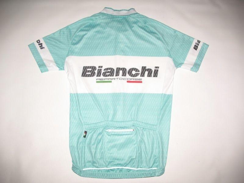 Футболка  NALINI Bianchi Team Carbon Jersey  (размер M) - 2