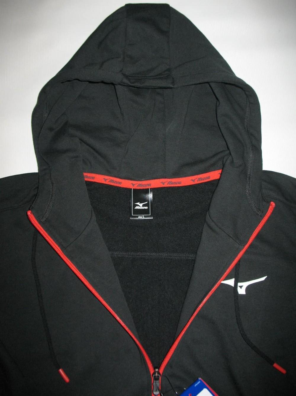 Кофта MIZUNO heritage zip hoody (размер L) - 4