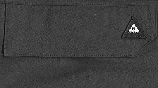 Штаны  BURTON poacher pants  (размер XL) - 3