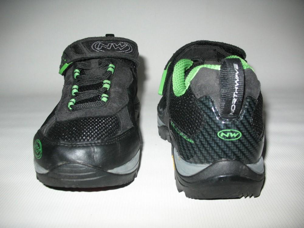 Велотуфли NORTHWAVE mission bike shoes (размер US9,5/UK8,5/EU42(на стопу до 270 mm)) - 6