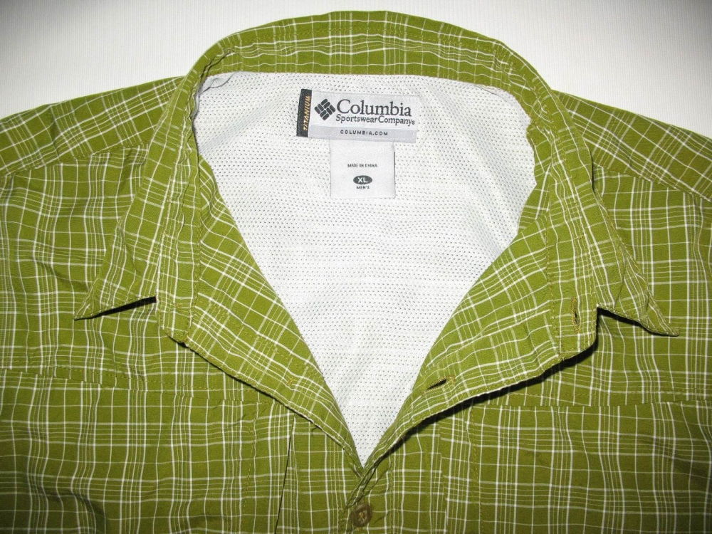 Рубашка COLUMBIA titanium green shirts (размер XL) - 5