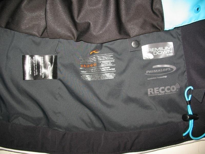 Куртка  KJUS Savvy Down jacket lady  (размер L/M) - 14