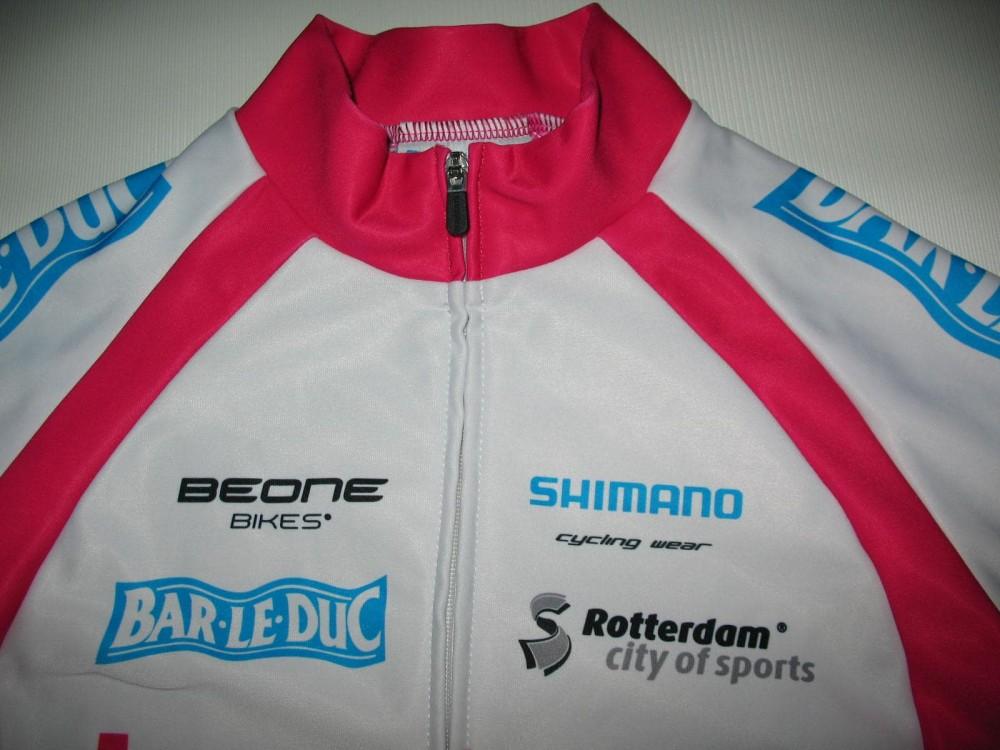Велокофта SHIMANO leontien fleece cycling jacket lady (размер S) - 2