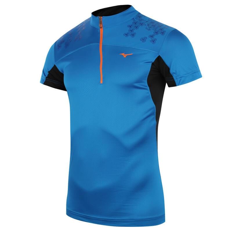 Футболка MIZUNO drylite hex tee jersey (размер M) - 2