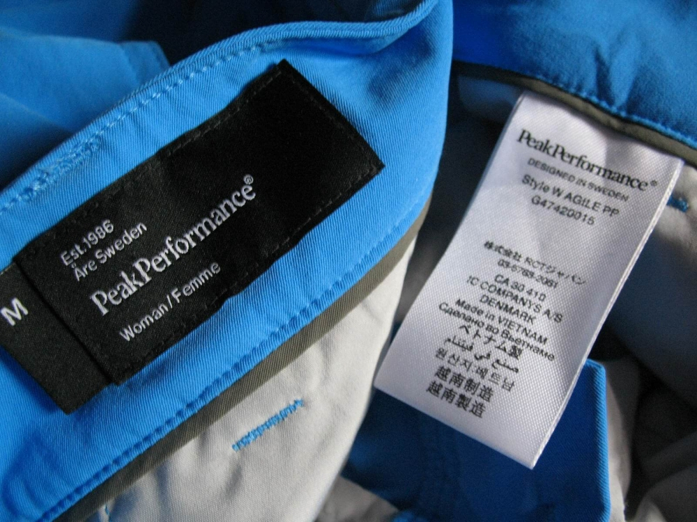 Шорты PEAK PERFOMANCE agile shorts lady (размер M) - 7