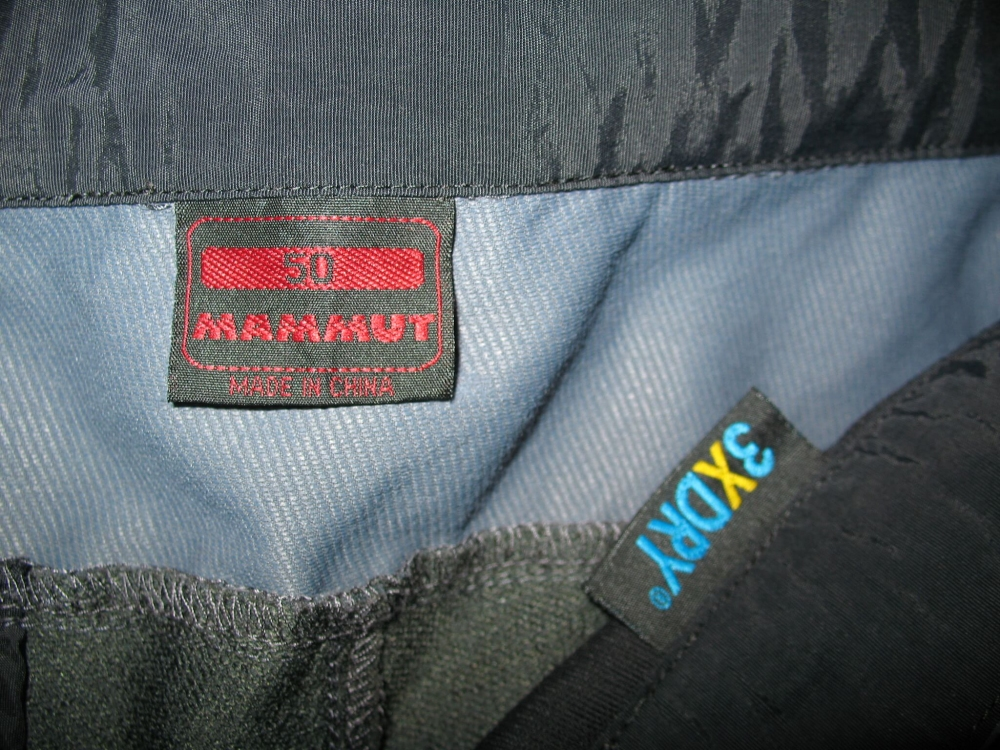 Штаны  MAMMUT Courmayeur Pants (размер 50-L) - 12
