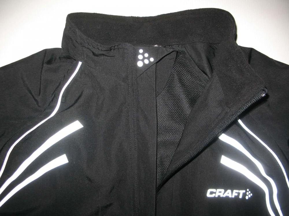 Велокуртка CRAFT 2in1 run bike jacket lady (размер L) - 3