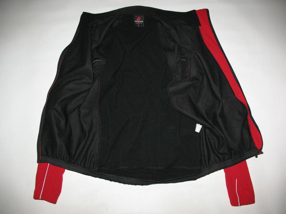 Велокуртка SPECIALIZED 2in1 windstopper cycling jacket (размер L(реально M/S) - 5