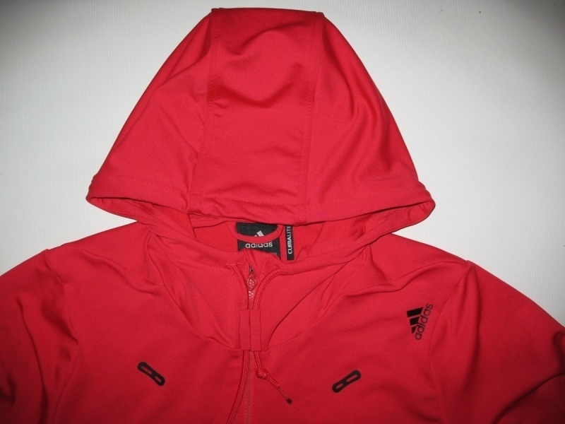 Кофта ADIDAS core performance climalite full zip hoodie  (размер S/M) - 3