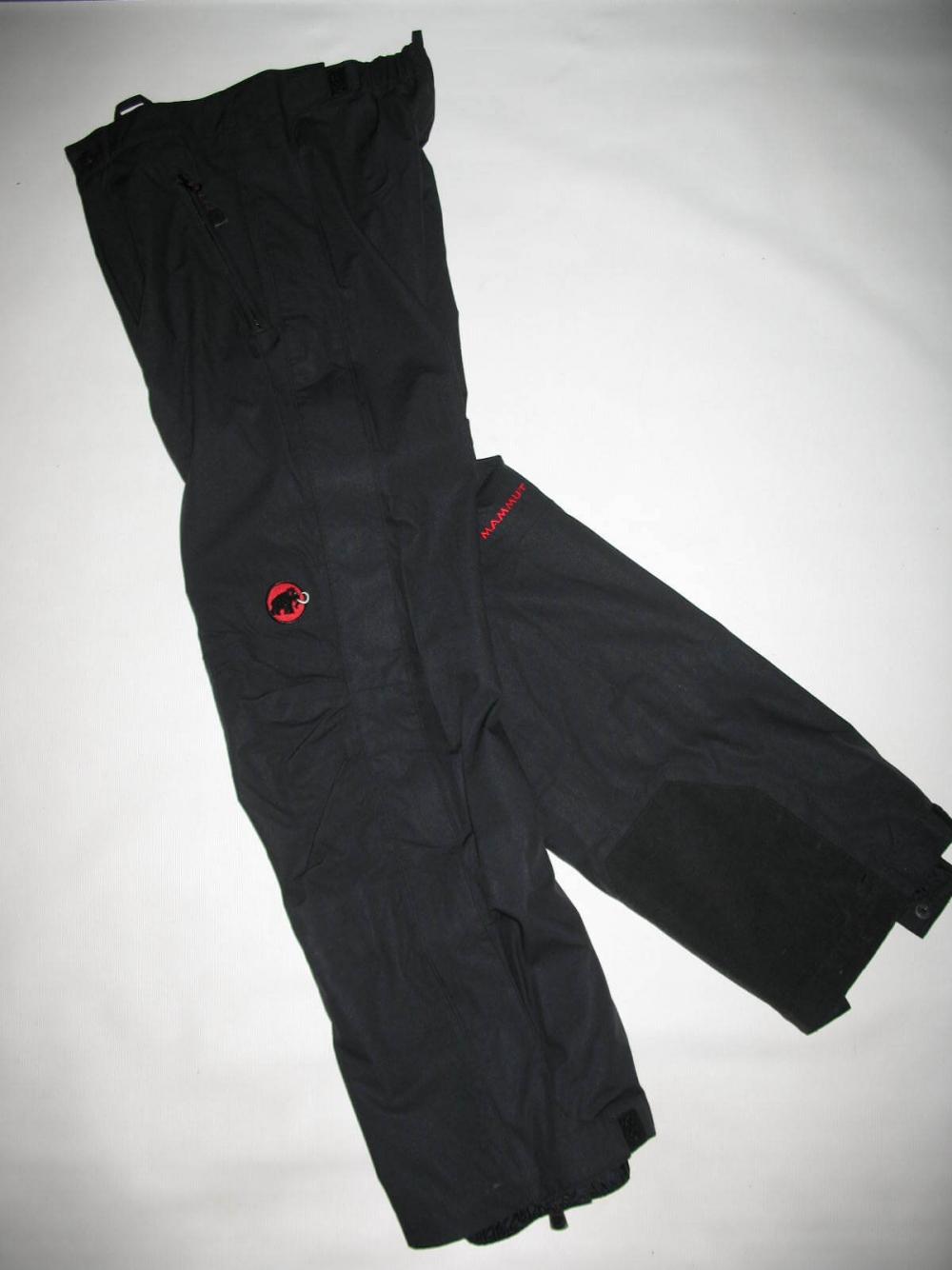 Штаны MAMMUT  waterproof  DRYtech pants (размер S) - 7