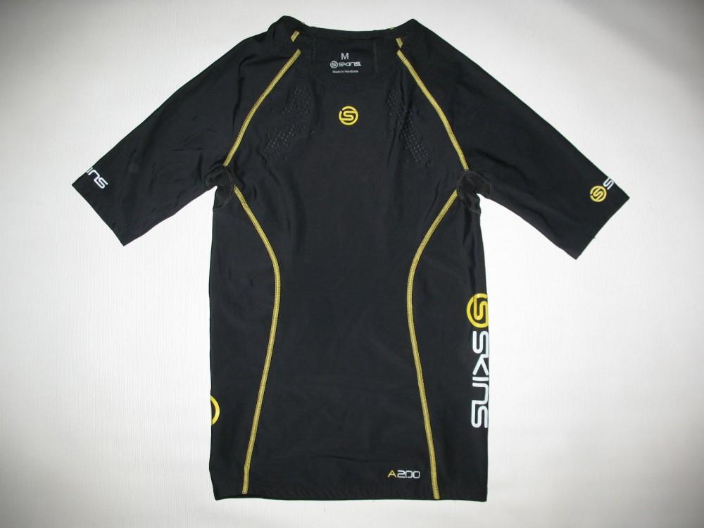 Футболка+брюки SKINS A200  short sleeves jersey+ long tights (размер M) - 1