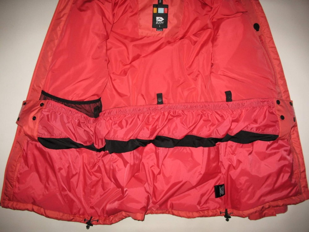 Куртка RUSTY snowboard down jacket   (размер L) - 7