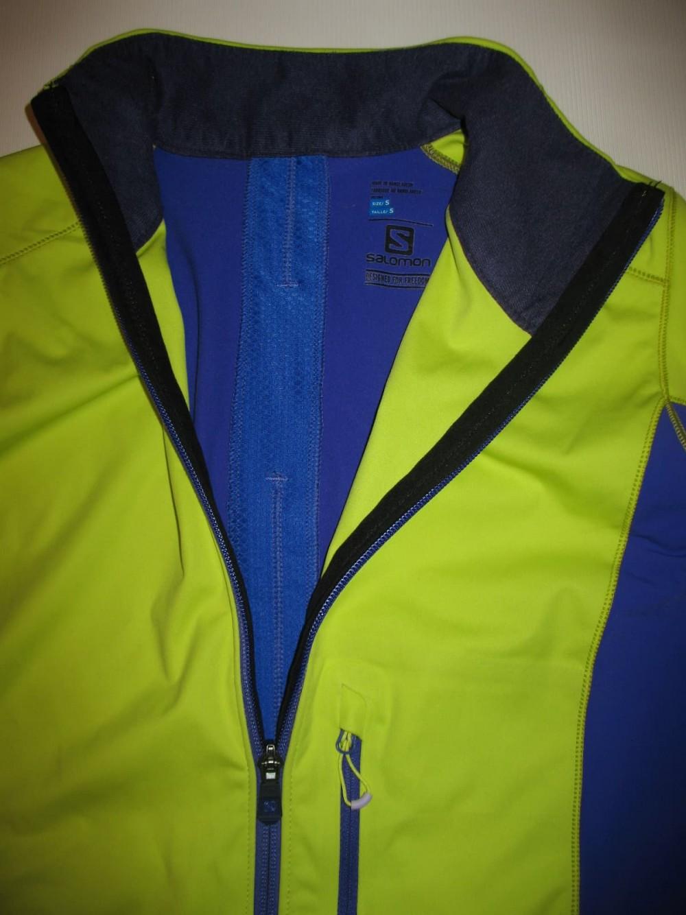 Куртка SALOMON lightning softshell jacket lady (размер S) - 4