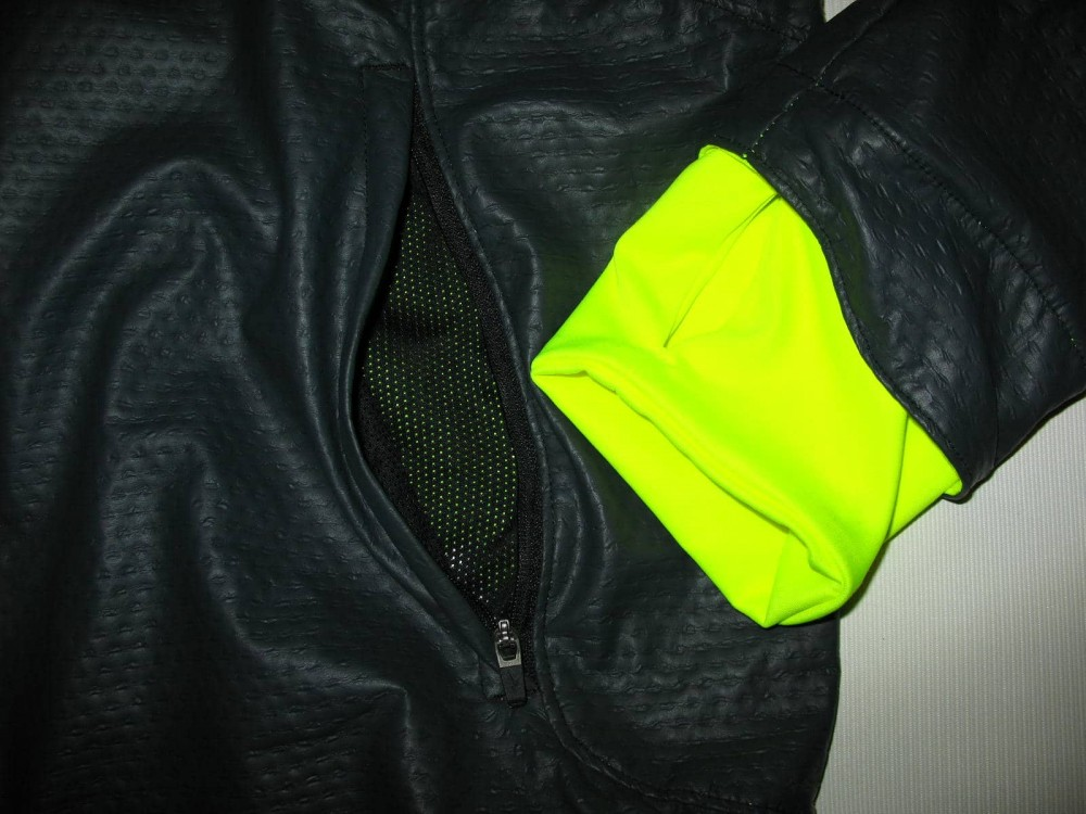 Куртка MIZUNO static BT softshell jacket (размер M) - 7