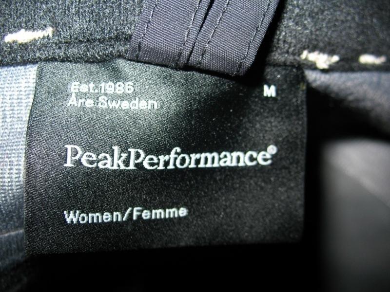 Штаны PEAK PERFOMANCE   Gore-TEX pants lady  (размер M/S) - 9