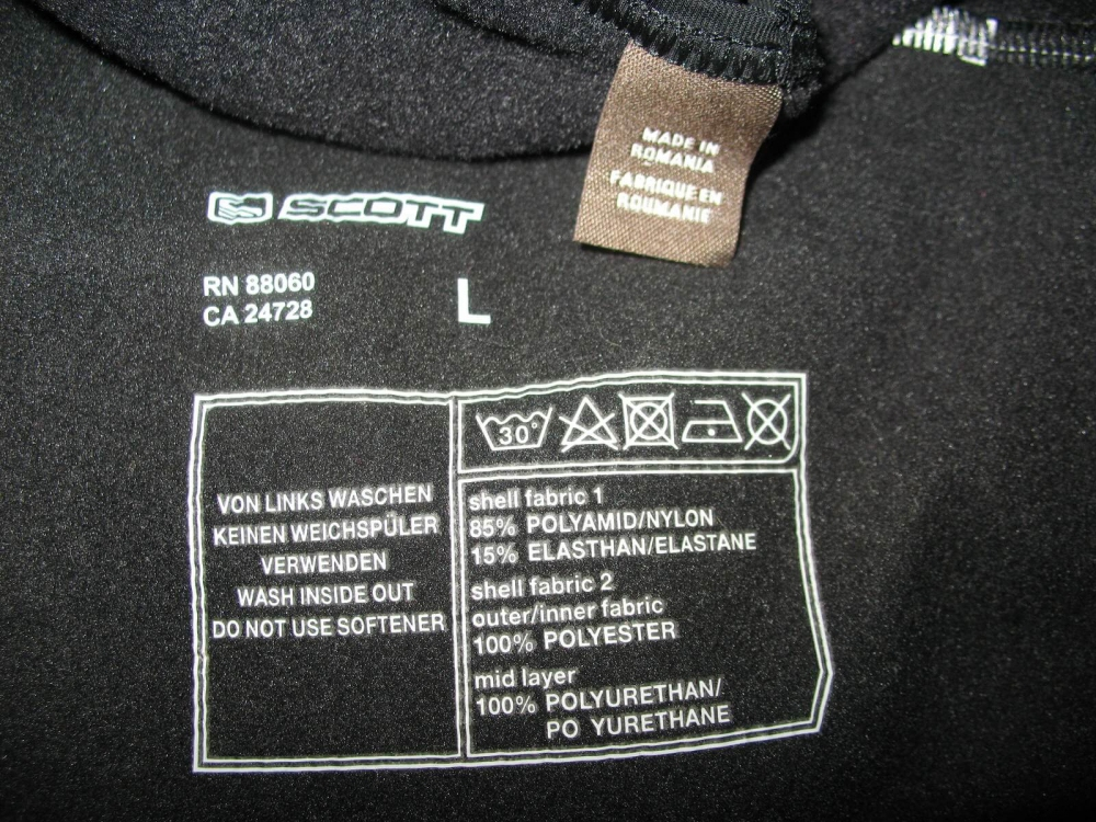 Штаны SCOTT cycling bib pants (размер L) - 9