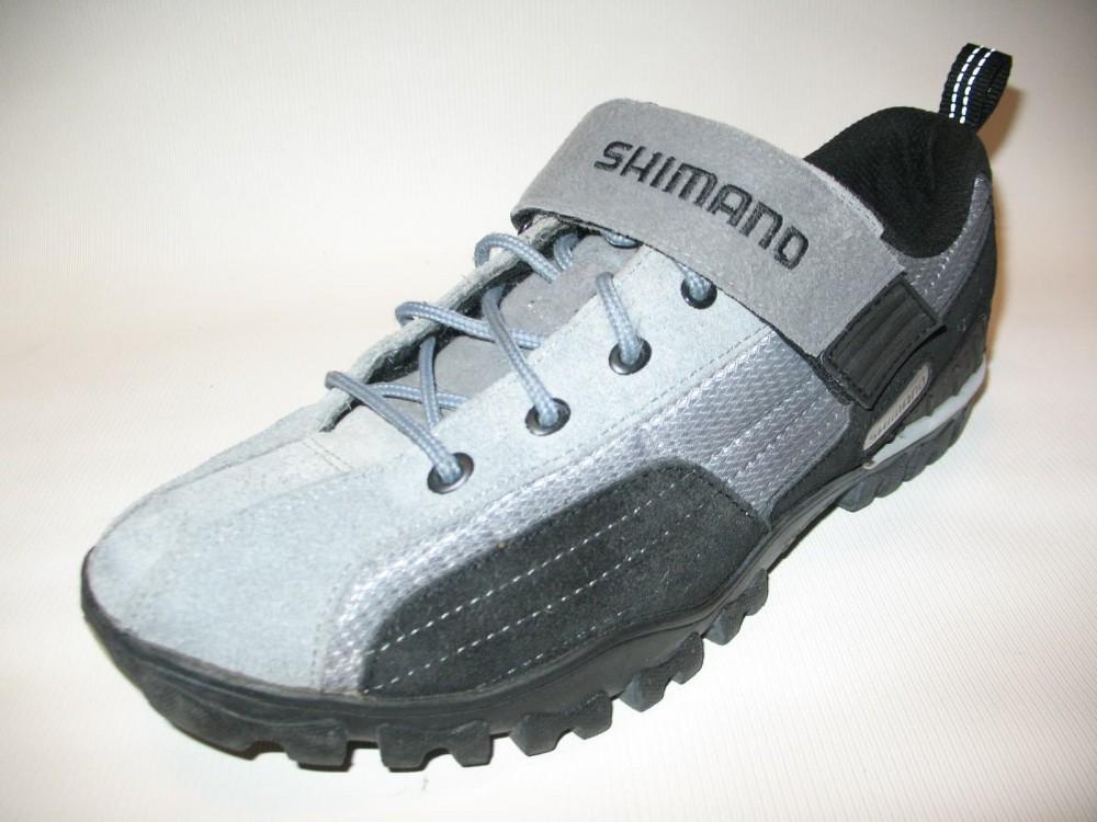 Велотуфли SHIMANO sh-mt 40 MTB shoes (размер US10/EU44(на стопу 278 mm)) - 2