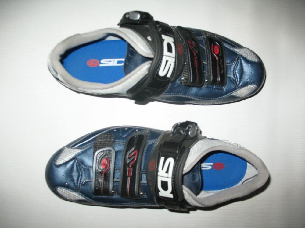 Велотуфли SIDI genius 5.5 carbon road shoes (размер EU42,5(на стопу 265mm)) - 4
