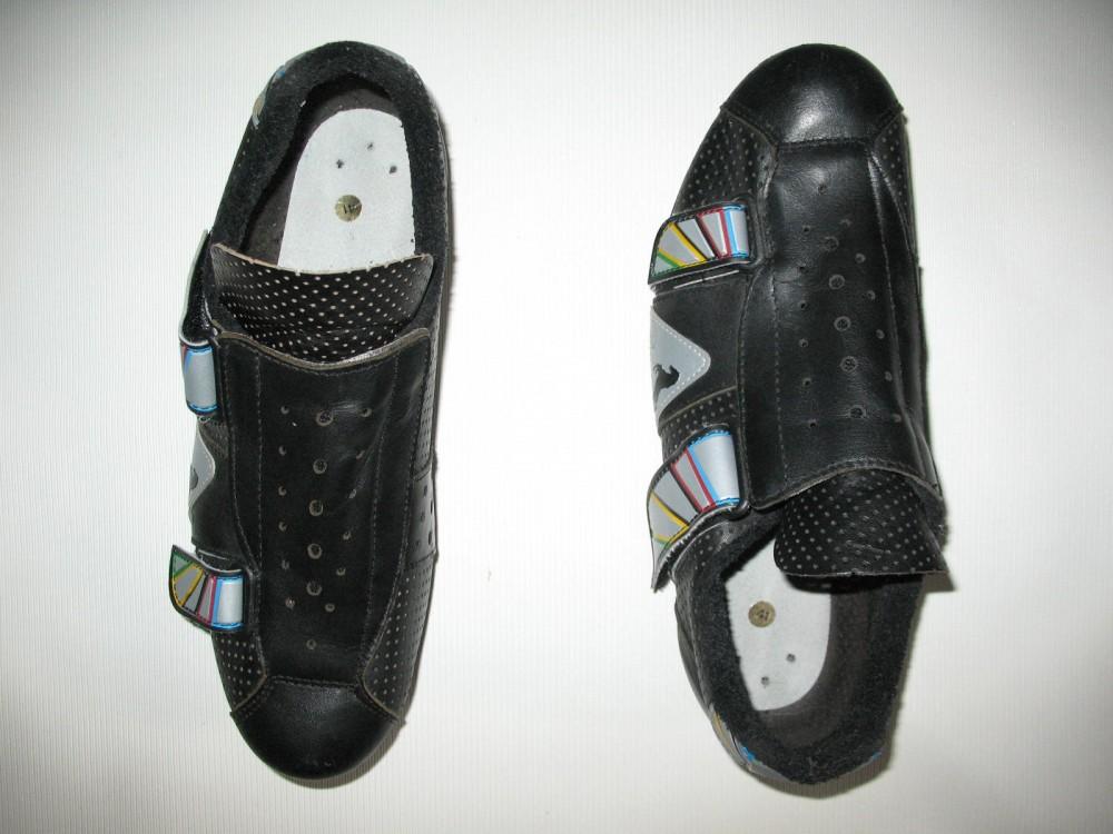 Велотуфли BLACKY cycling road shoes (размер EU41(на стопу до 250 mm)) - 4