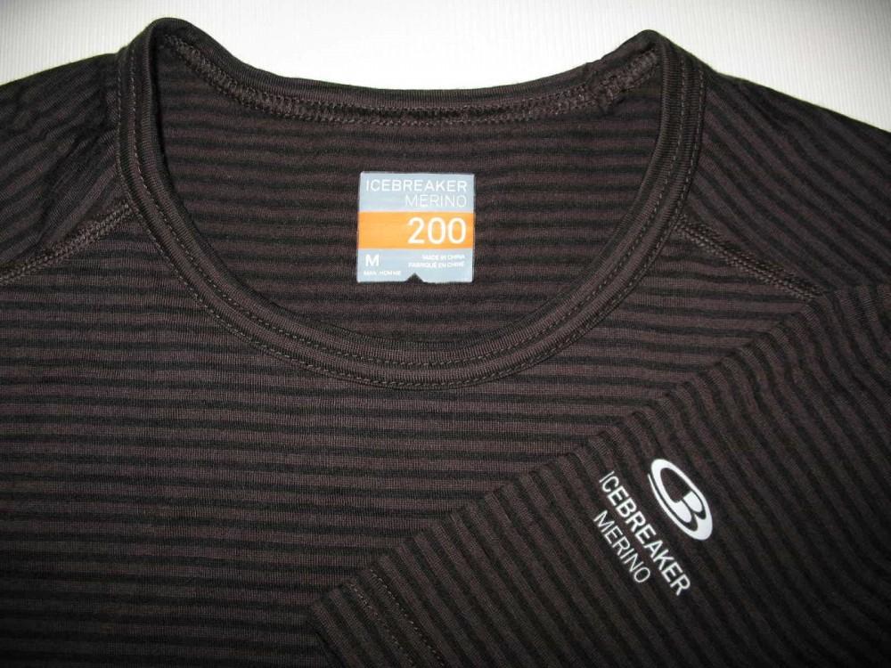 Термобелье ICEBREAKER merino 200 brown jersey (размер M) - 2