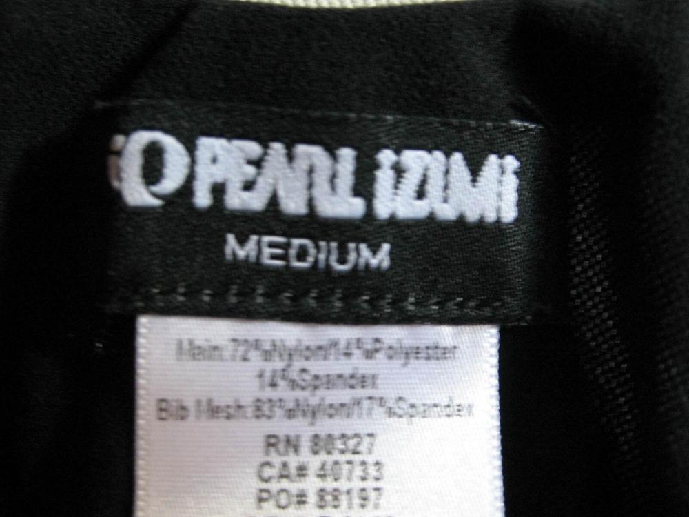 Велошорты PEARL IZUMI bib shorts (размер М/S) - 6