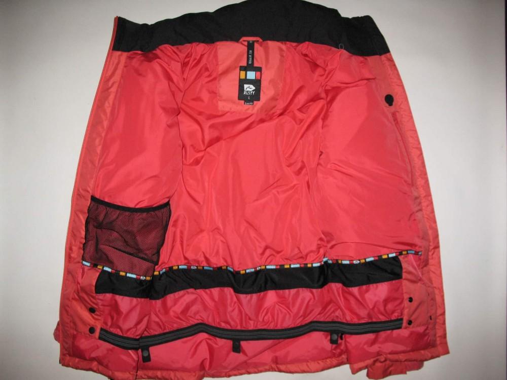 Куртка RUSTY snowboard down jacket   (размер L) - 6
