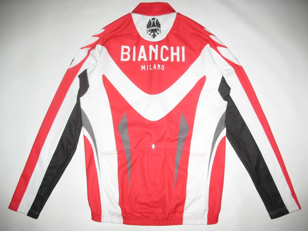 Велокофта BIANCHI cycling fleece jacket (размер XL/L) - 1