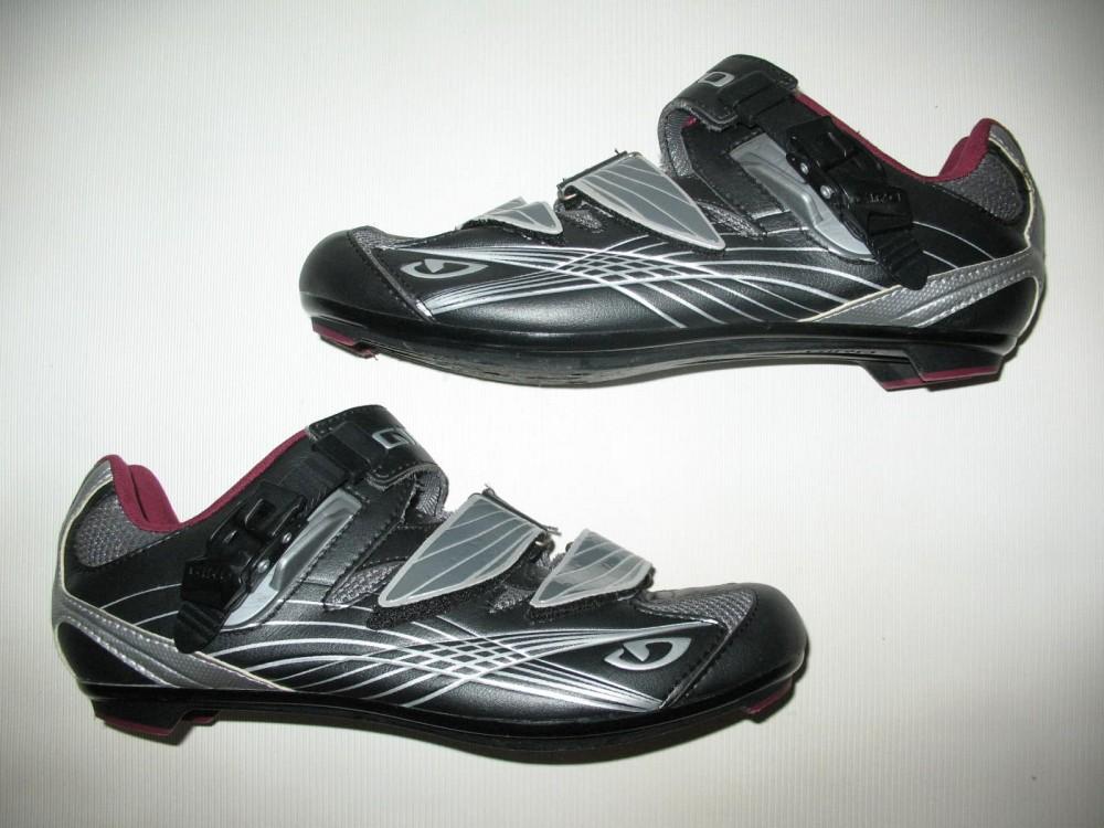 Велотуфли GIRO solara road shoes lady (размер US8/UK6/EU40(на стопу 250 mm)) - 4