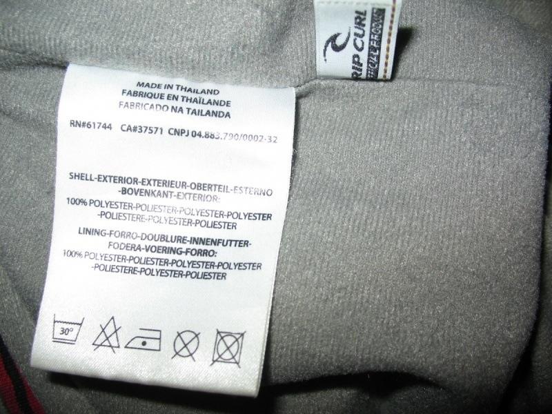 Штаны RIP CURL dermizax pant   (размер XL) - 14