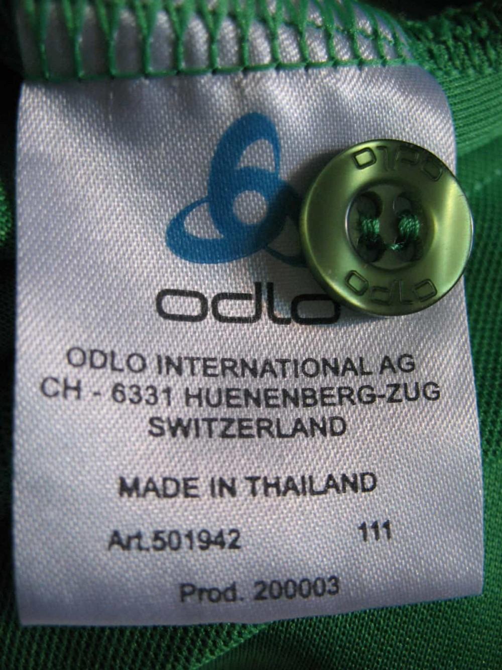 Футболка ODLO pins polo shirts (размер L) - 3
