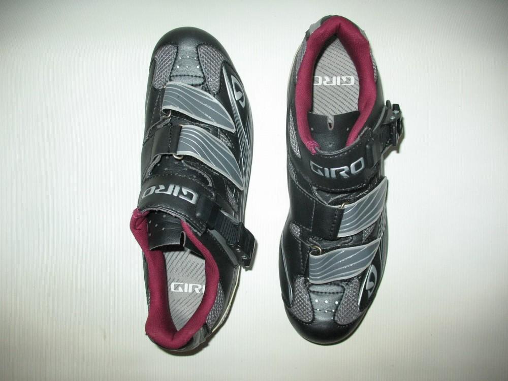 Велотуфли GIRO solara road shoes lady (размер US8/UK6/EU40(на стопу 250 mm)) - 6