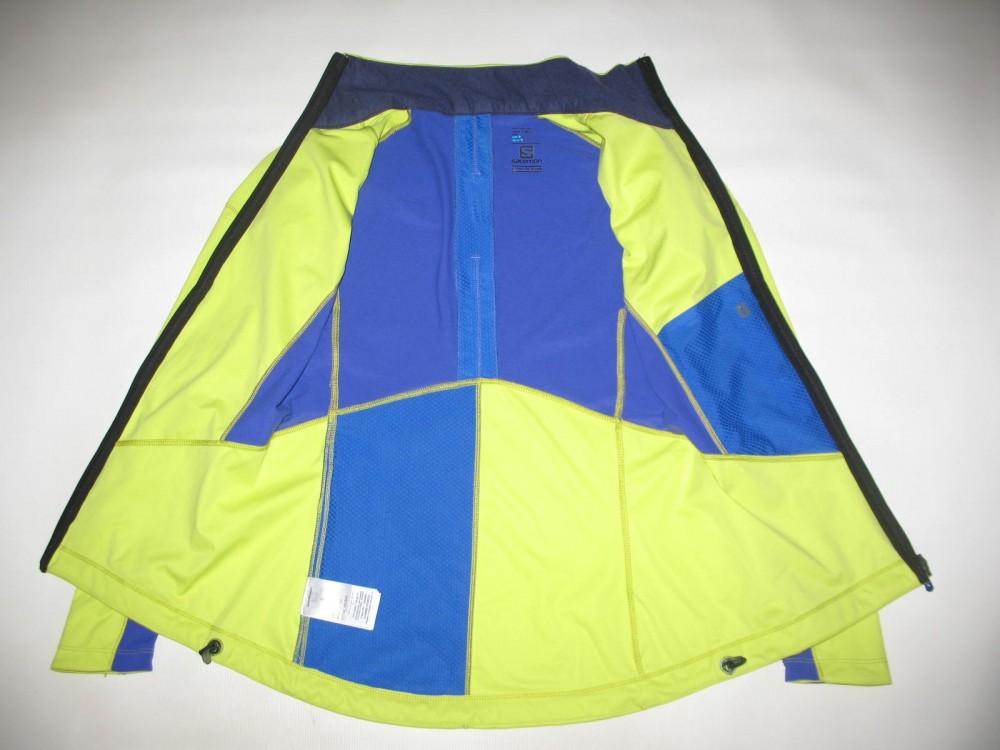 Куртка SALOMON lightning softshell jacket lady (размер S) - 3