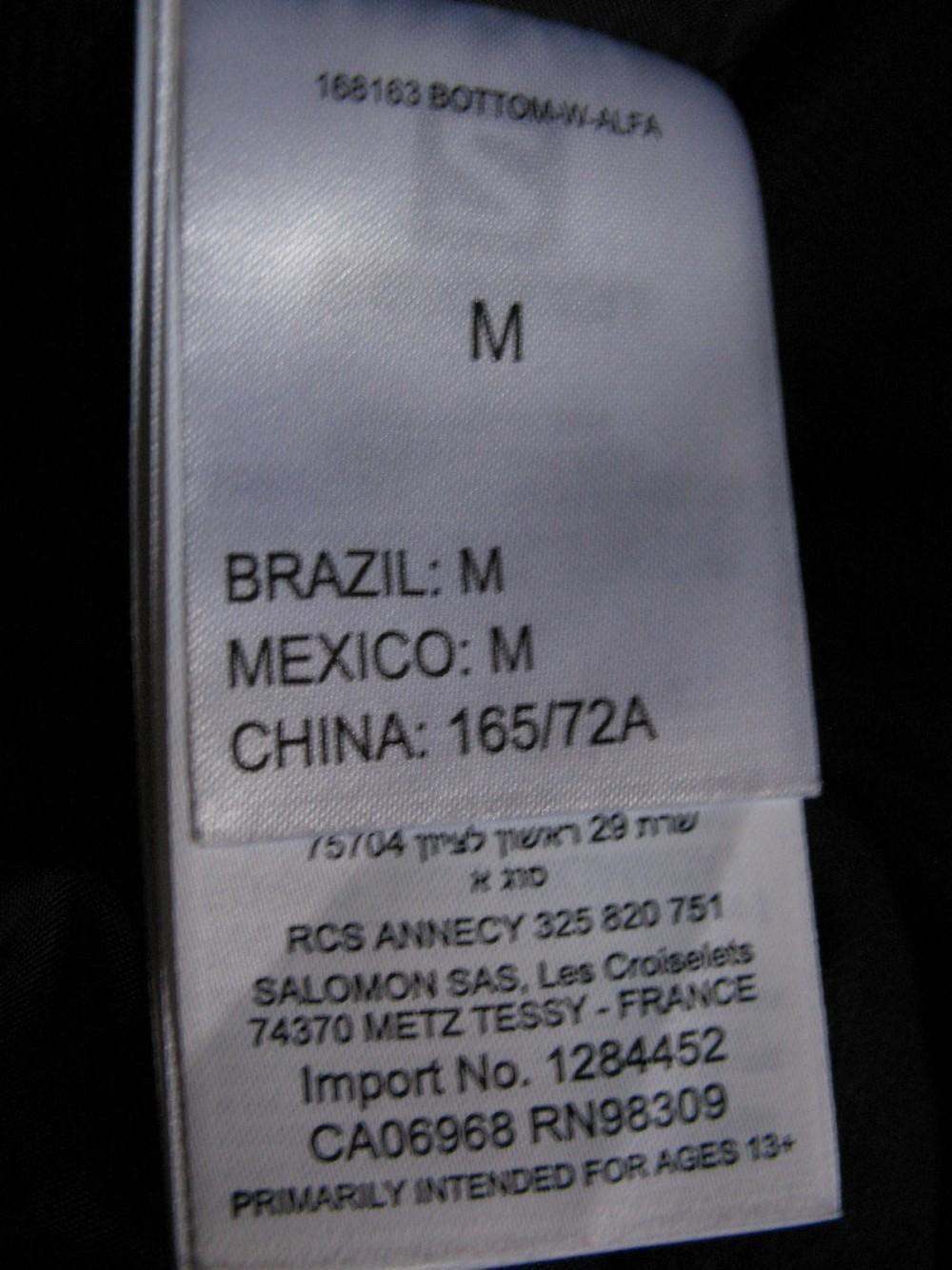 Штаны SALOMON icemania pants lady (размер M) - 12