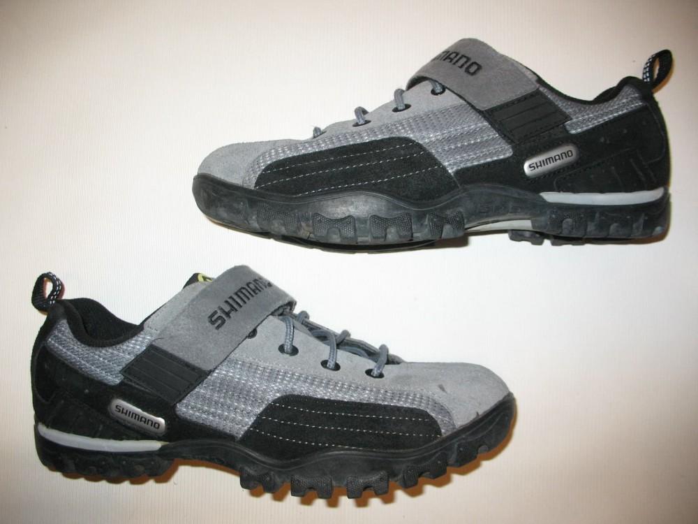 Велотуфли SHIMANO sh-mt 40 MTB shoes (размер US10/EU44(на стопу 278 mm)) - 3