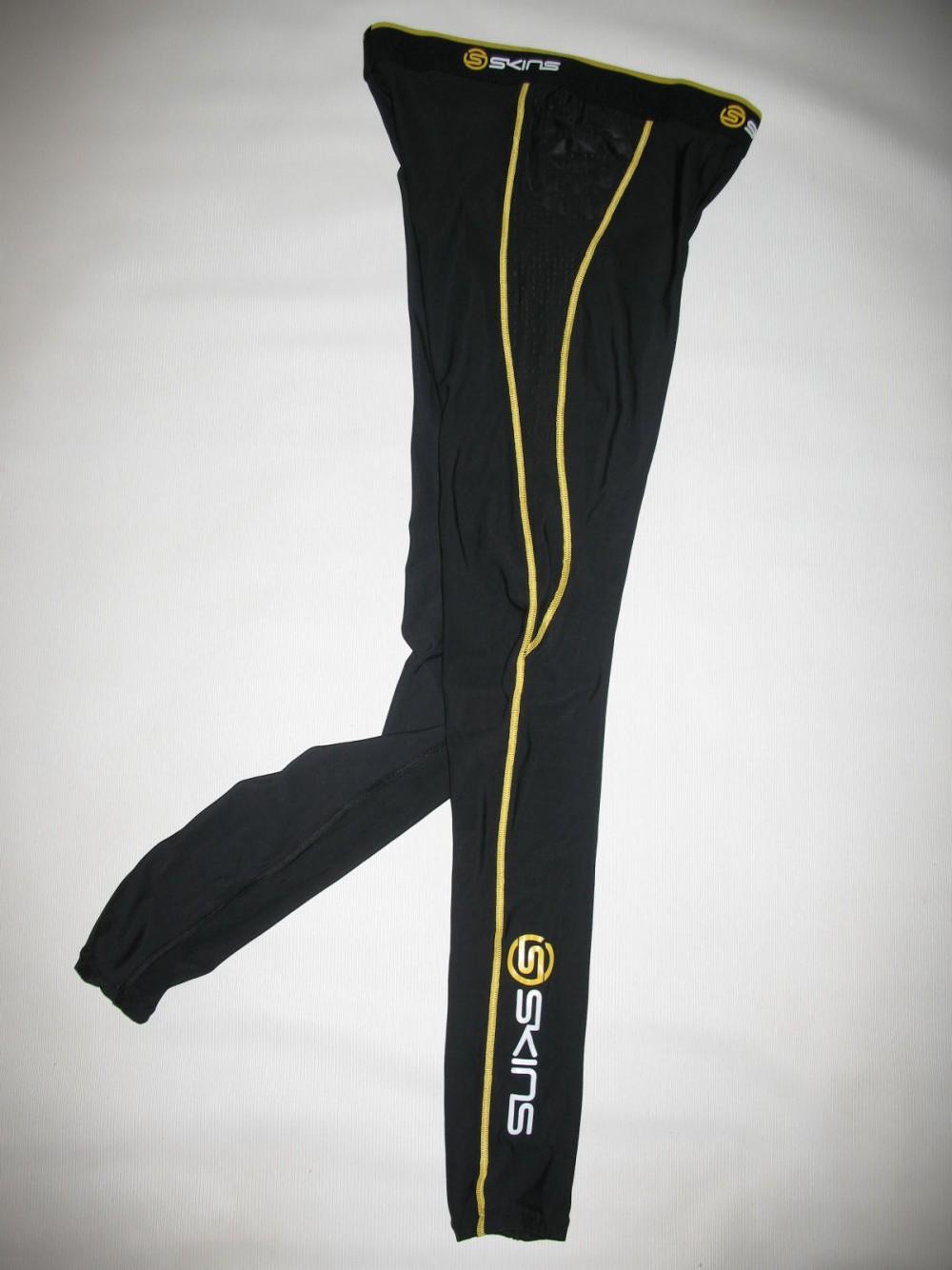 Футболка+брюки SKINS A200  short sleeves jersey+ long tights (размер M) - 3