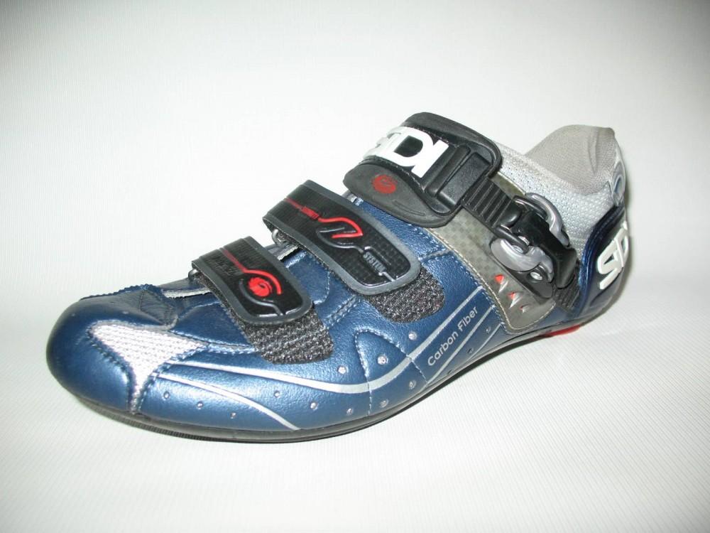 Велотуфли SIDI genius 5.5 carbon road shoes (размер EU42,5(на стопу 265mm)) - 1