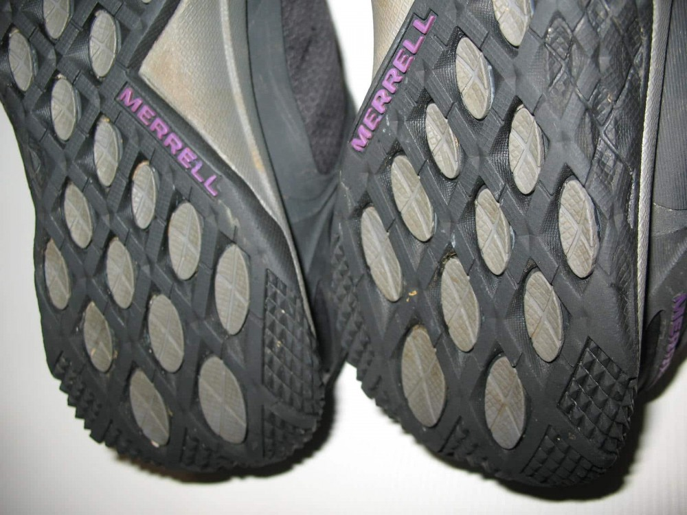 Кроссовки MERRELL proterra gore-tex hiking shoes lady (размер UK5,5/US8/EU38,5(на стопу до   250mm)) - 12