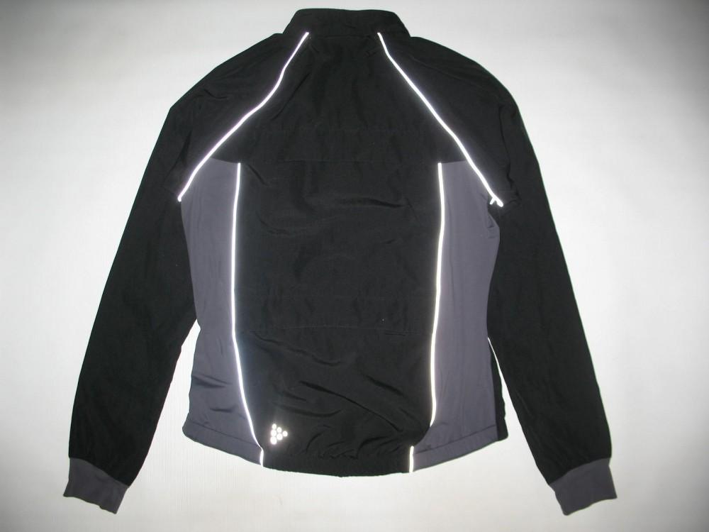 Велокуртка CRAFT 2in1 run bike jacket lady (размер L) - 2