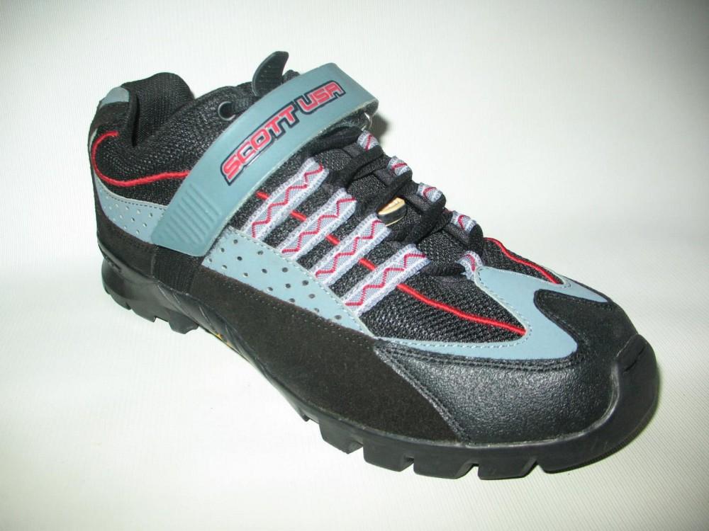 Велотуфли SCOTT vibram mtb bike shoes (размер US9/UK8/EU42(на стопу 265 mm)) - 1