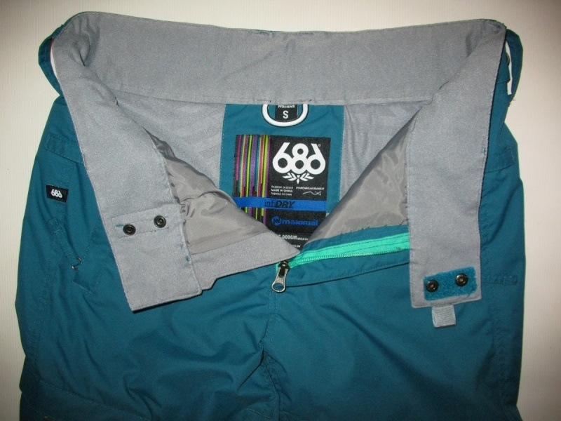 Штаны 686 snowboard pants lady (размер S) - 4