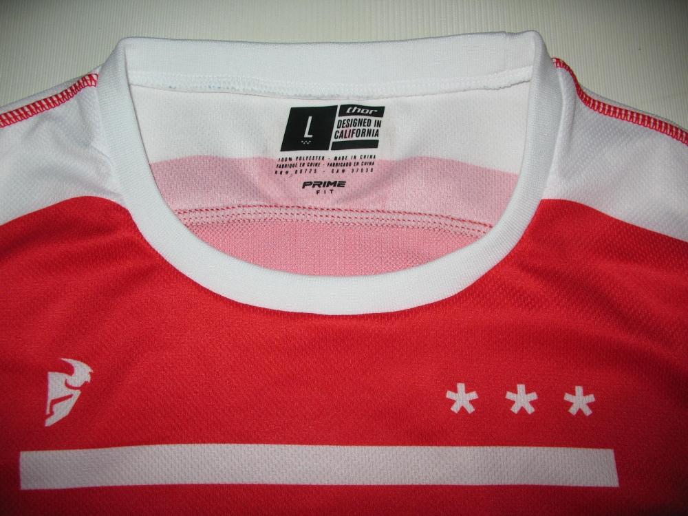 Продам джерси Велоджерси THOR prime fit squad moto/DH jersey (размер L) - 4