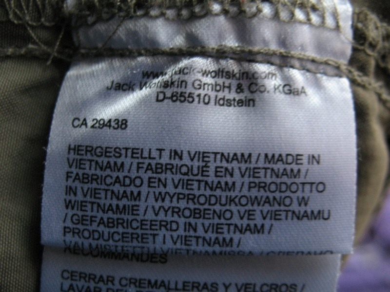 Штаны JACK WOLFSKIN Mosquito Safari Pants  (размер 34/50/L)) - 13